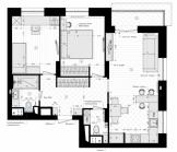 Квартира 68 кв.м.